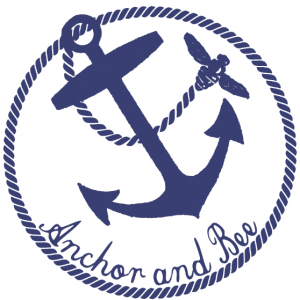 Anchor and Bee logo